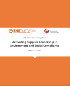 EHS Network findings report