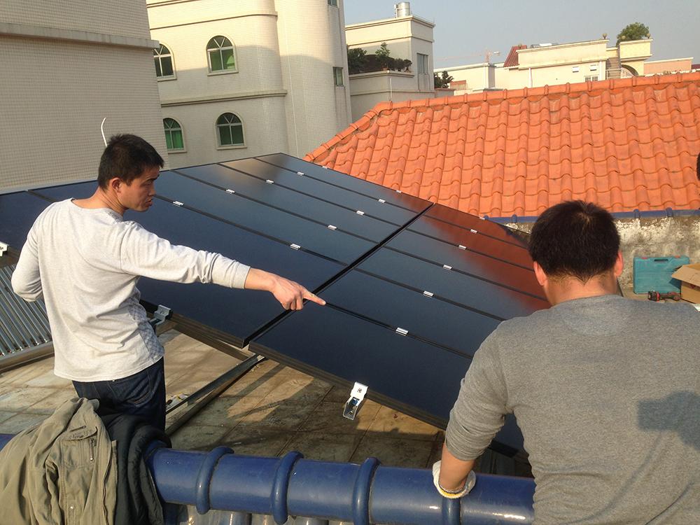 PCA solar installation