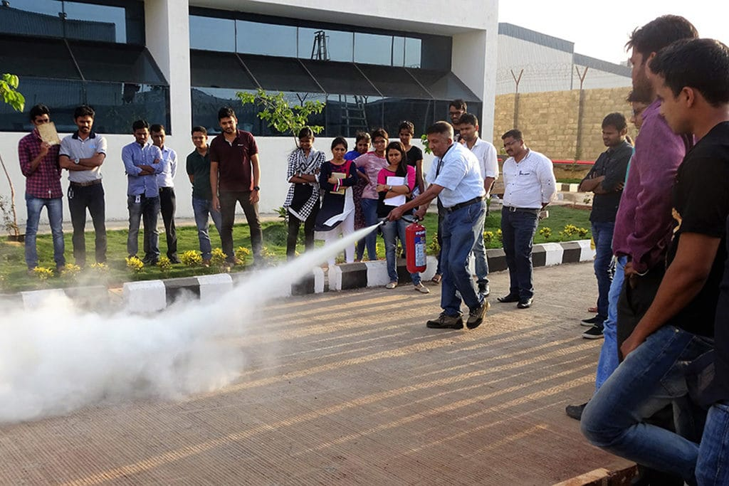 Fire Safety Training, EHS India