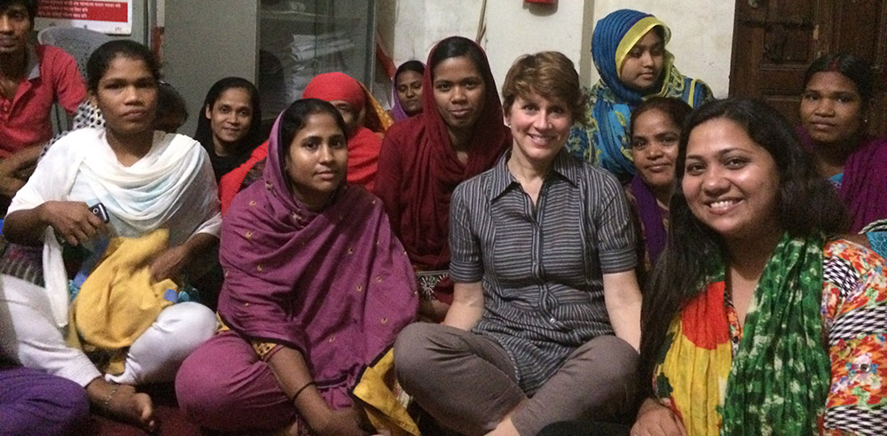 bangladesh ladies with Steph, GRP