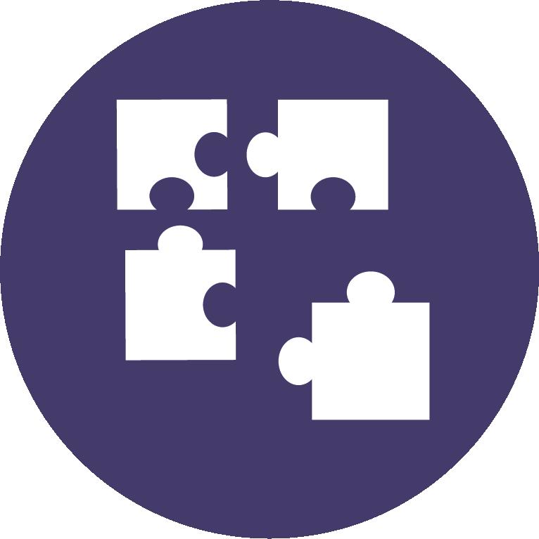 Puzzple pieces icon